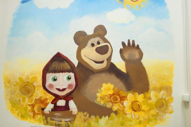 Маша и медведь 1