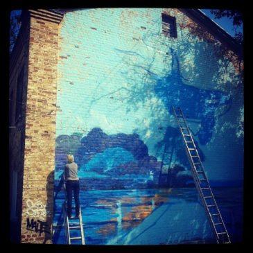 Граффити-проект в Нижнем Новгороде