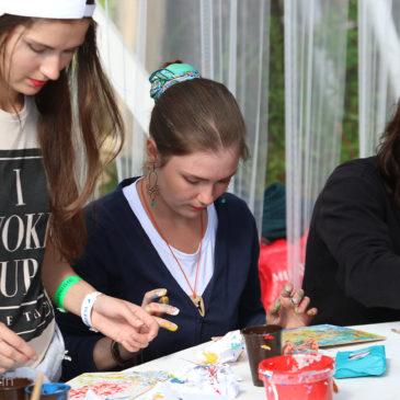 Мастер-класс «Абстрактная живопись» на Горьковском море