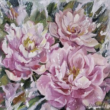 6 марта 2016 пройдет выставка цветочной живописи